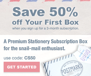 PostBox 3-Month Subscription